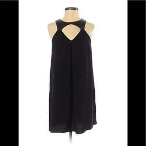 BCBGeneration black dress with faux leather